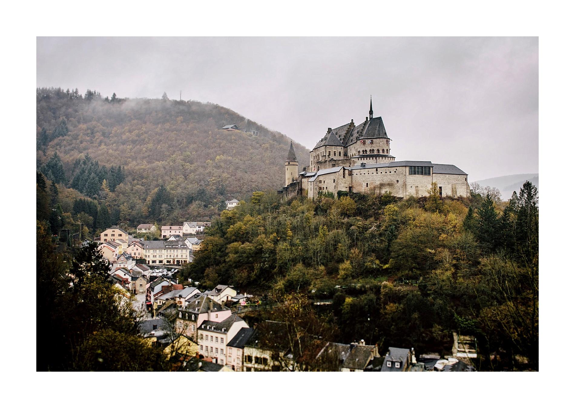Vianden Castel, Luxembourg